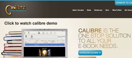 calibre - E-book management